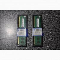 ОЗУ 4 GB Kingston DDR 3 одним лотом 2 планки по 2 GB НОВАЯ