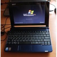 Маленький, производительный нетбук Acer Aspire ZG5. (батарея 1, 5 часа)