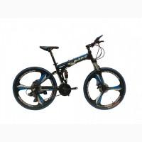 Велосипед на литых дисках складной Make bike на алюминиевой раме