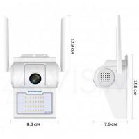 Камера видеонаблюдения CAMERA D2 WIFI IP with light 2.0mp уличная с ИК