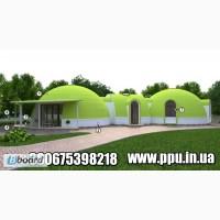 Купольные дома 110$ за м.кв, линия для производства купольных домов