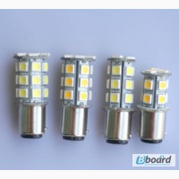 2шт. Светодиодная авто лампа, Led, BAY15D, 1157, P21/5W