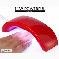12 Вт уф-лампа для маникюра, переносная, светодиодная, с питанием от USB