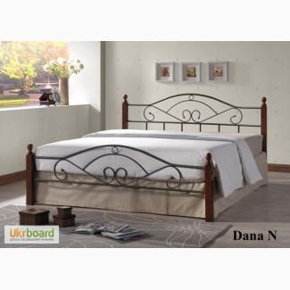 Металлические кровати с элементами ковки и натурального дерева (Малайзия)